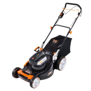22 inch Redback 120V, Self Propelled, Cordless Lawn Mower