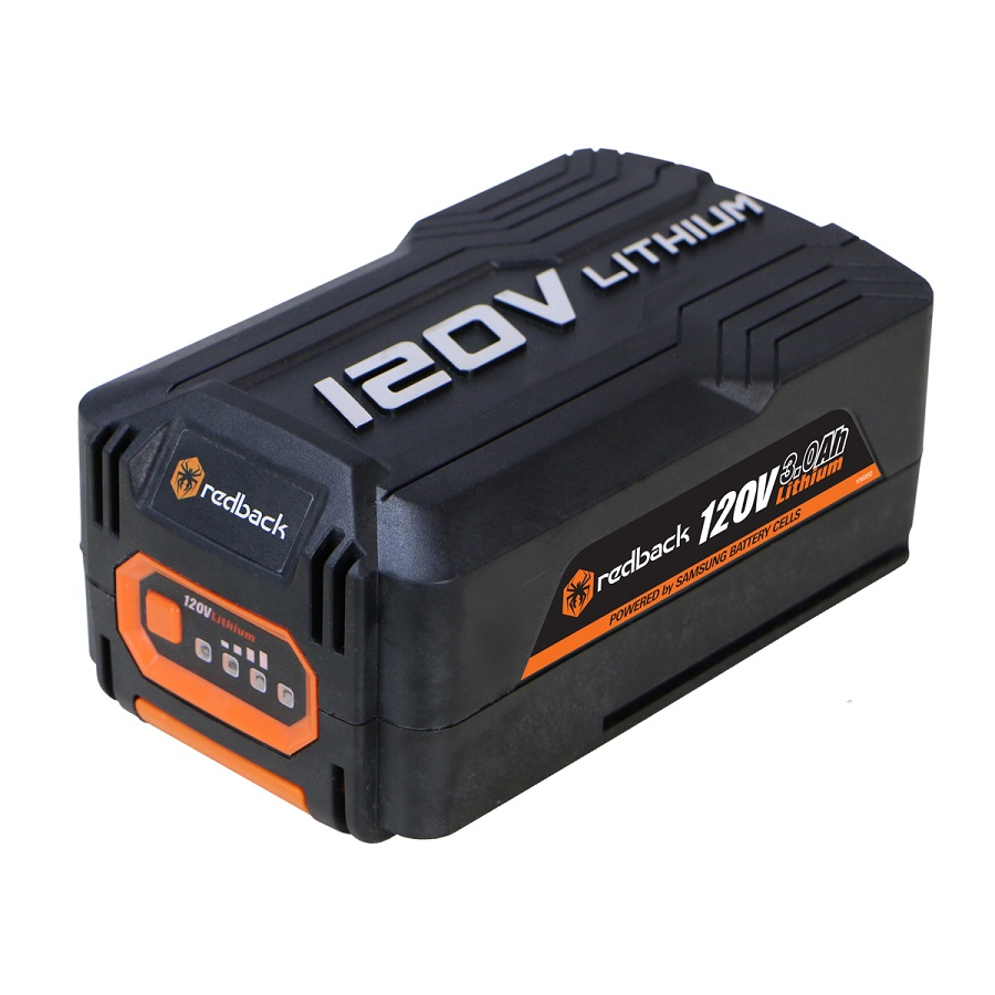 Lithium Ion Battery >> Redback 120v Lithium Ion Battery 3 0ah 360wh
